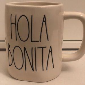 HOLA BONITA mug! Brand new